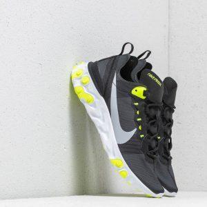 Nike React Element 55 Wmns Black/ Wolf Grey-Volt-Cool Grey